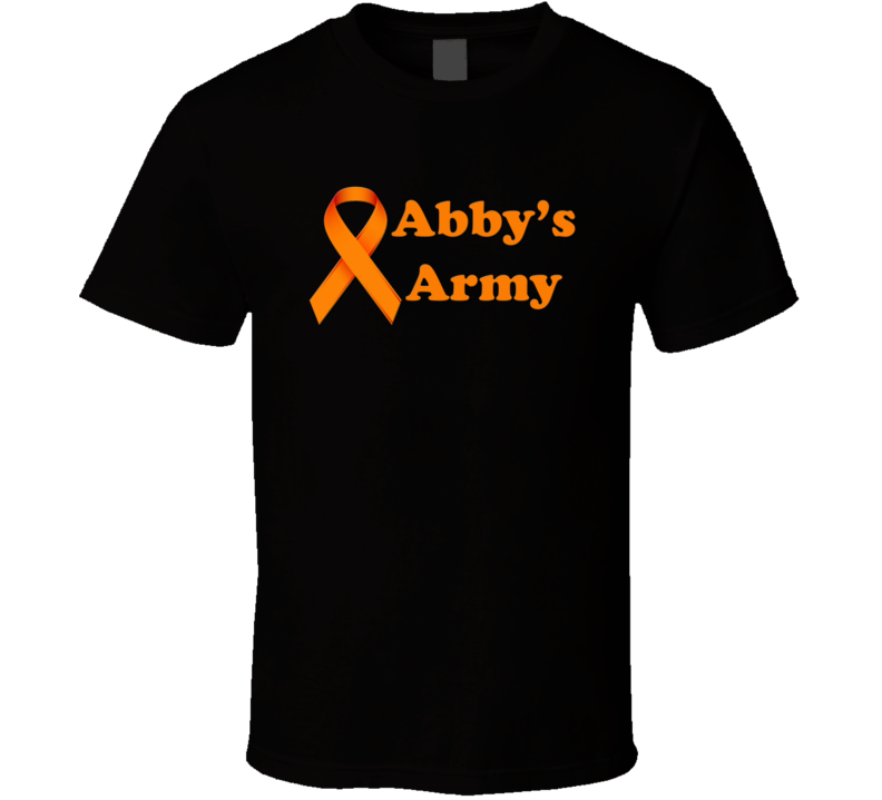 Abby's Army Support  T Shirt