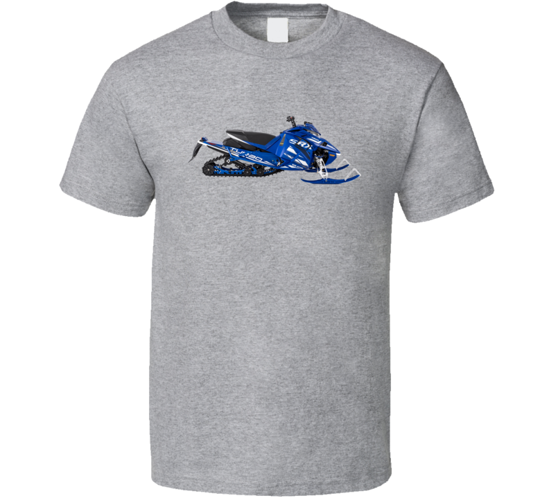 2022 Yamaha Srx Snowmobile Blue T Shirt