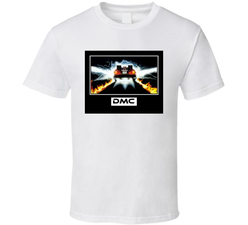 Back to the Future DMC Delorean Motor Company T Shirt T Shirt