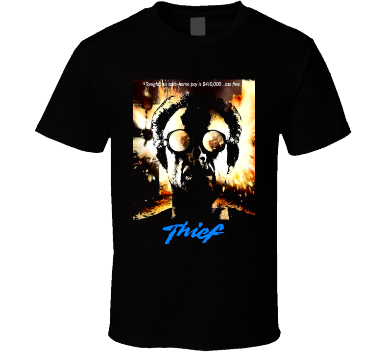 Thief James Caan Movie Nelson T Shirt