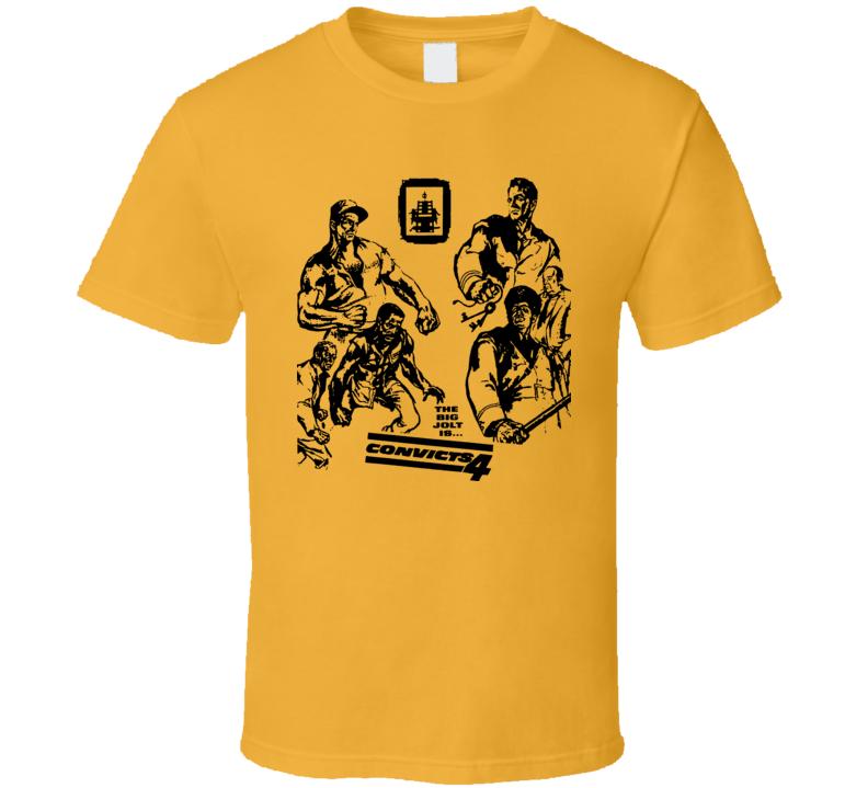 Convicts 4 Four Davis Steiger Price Gazzara Walston Movie T Shirt