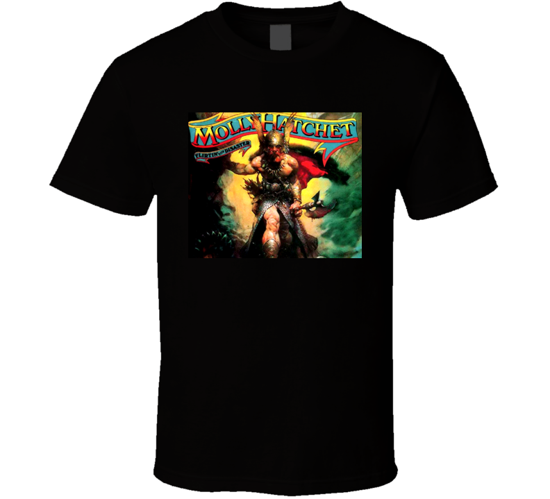 Southern Rock Music Flirtin With Disaster Molly Hatchet T Shirt