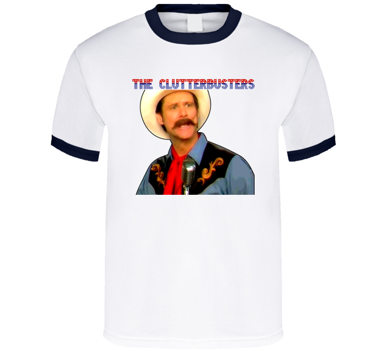 The Clutterbusters Jim Carrey Funny Or Die Guns Skit T Shirt