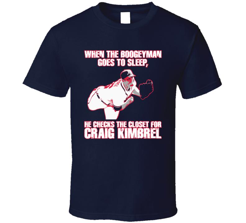 more photos 2f287 818c6 Boogeyman Atlanta Baseball Craig Kimbrel T Shirt
