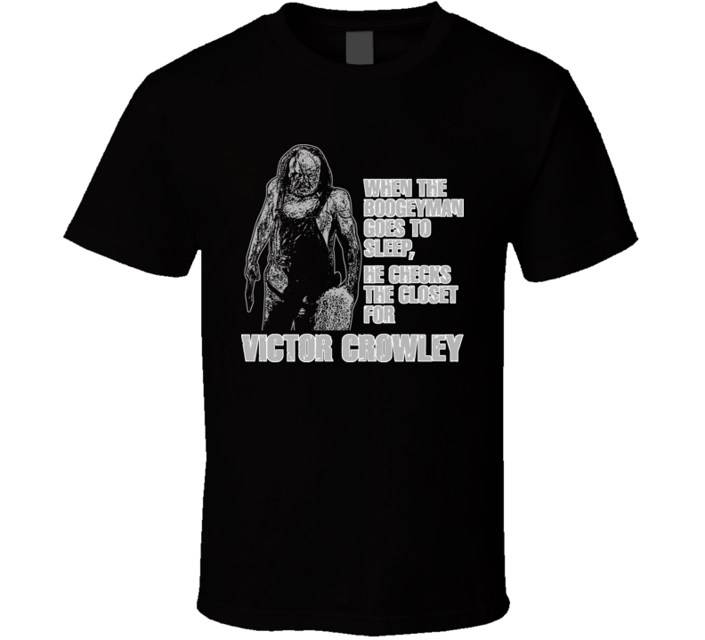 Hatchet Victor Crowley Halloween Horror Movie New Orleans T Shirt