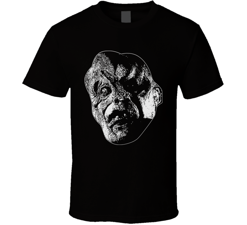 Victor Crowley Horror Scary Hatchet Halloween Face Costume T Shirt