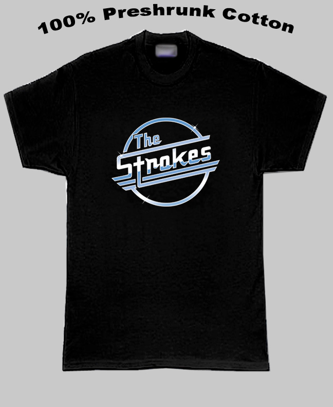 The Strokes Music Group T Shirt