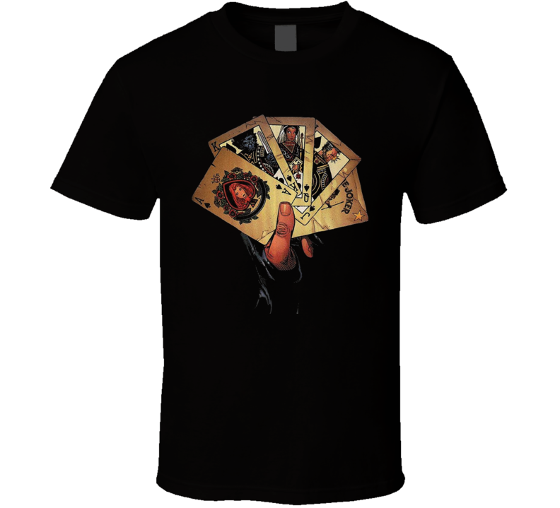 Gambit Card X Men Origins T Shirt