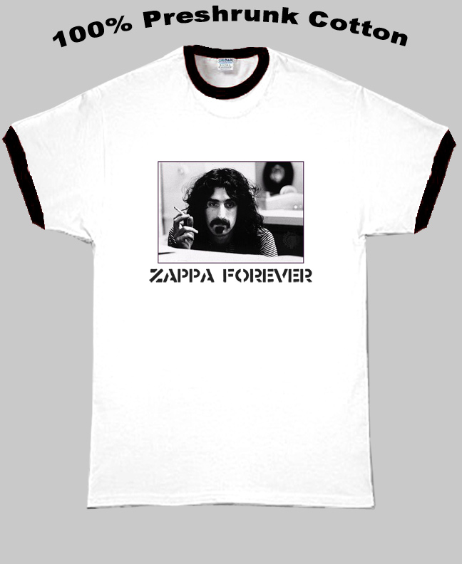 Frank Zappa Forever T Shirt