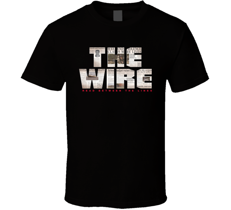 HBO The Wire Logo T Shirt