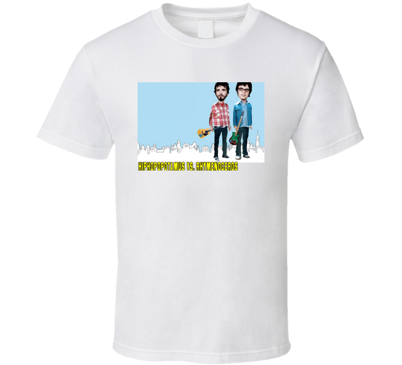 Flight Of The Conchords Hiphopopotamus Vs. Rhymenoceros T Shirt