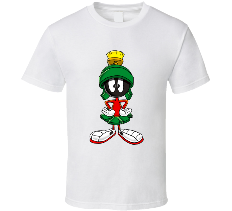Marvin the Martian Looney Tunes Graphic T Shirt