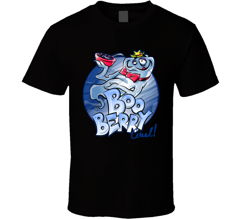 Boo Berry 70S Cereal Retro T Shirt