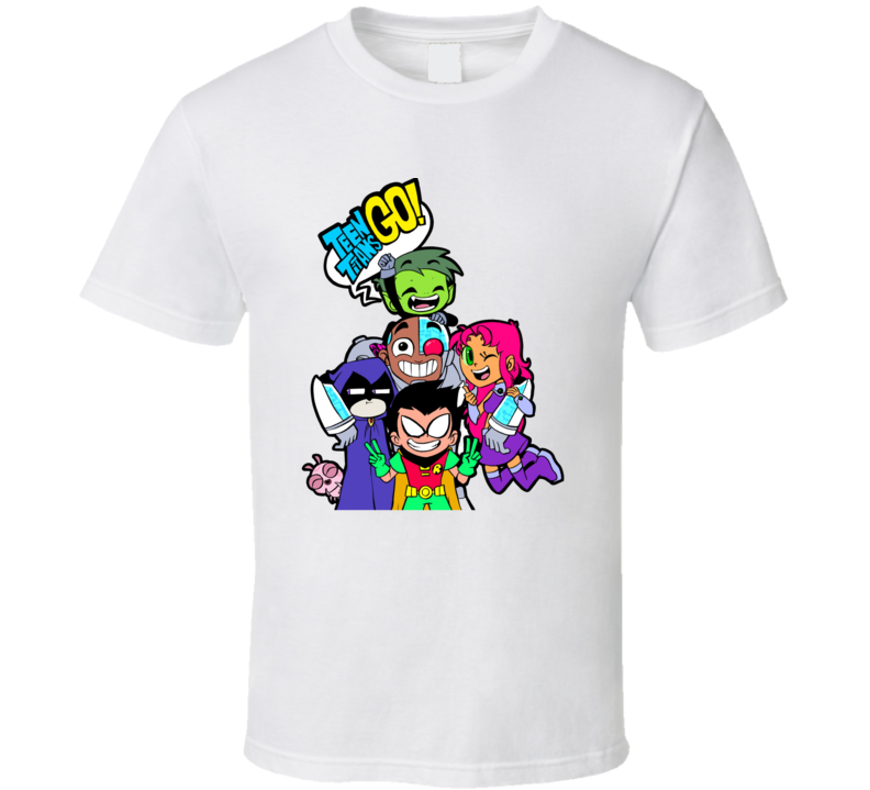 Teen Titans Go! Tv Superheroes T Shirt