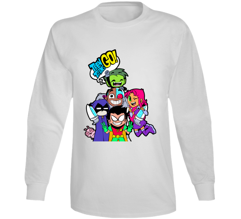 Teen Titans Go! Tv Superheroes Long Sleeve