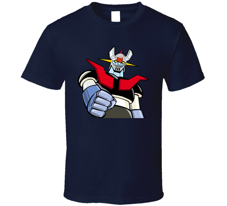 Mazinger Z Tranzor Z Anime Retro 70s Graphic T Shirt