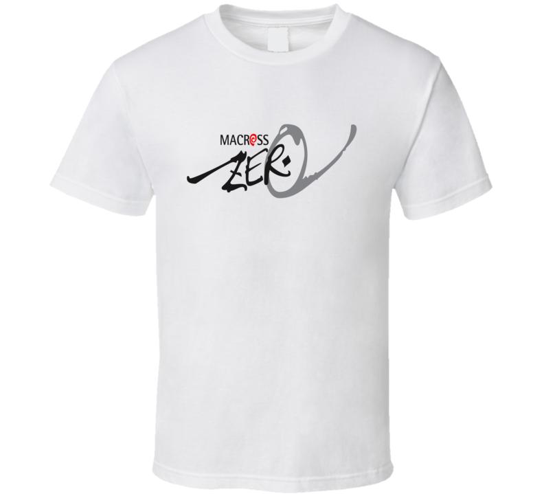 Robotech Macross Zero Logo Graphic T Shirt
