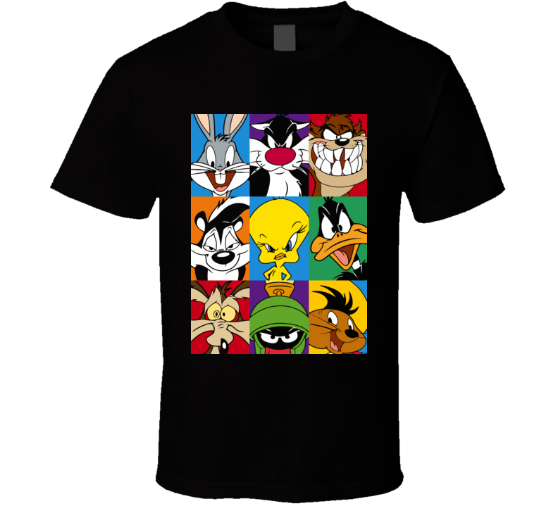 Looney Tunes Characters Graphic T Shirt