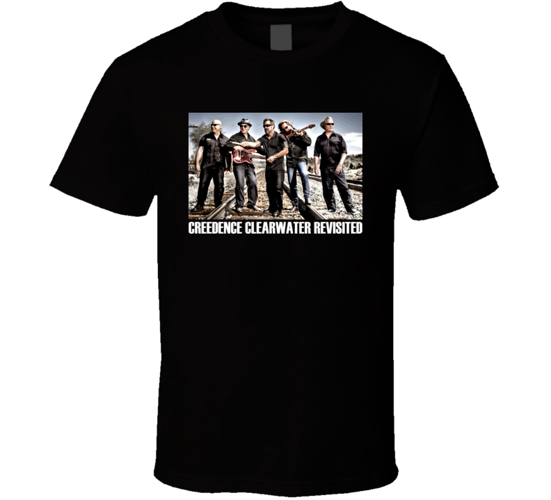 Creedence Clearwater Revisited Rock Band T Shirt