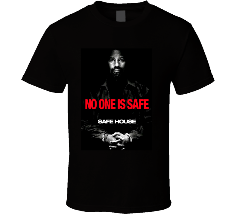 Safe House 2012 Movie Poster T Shirt