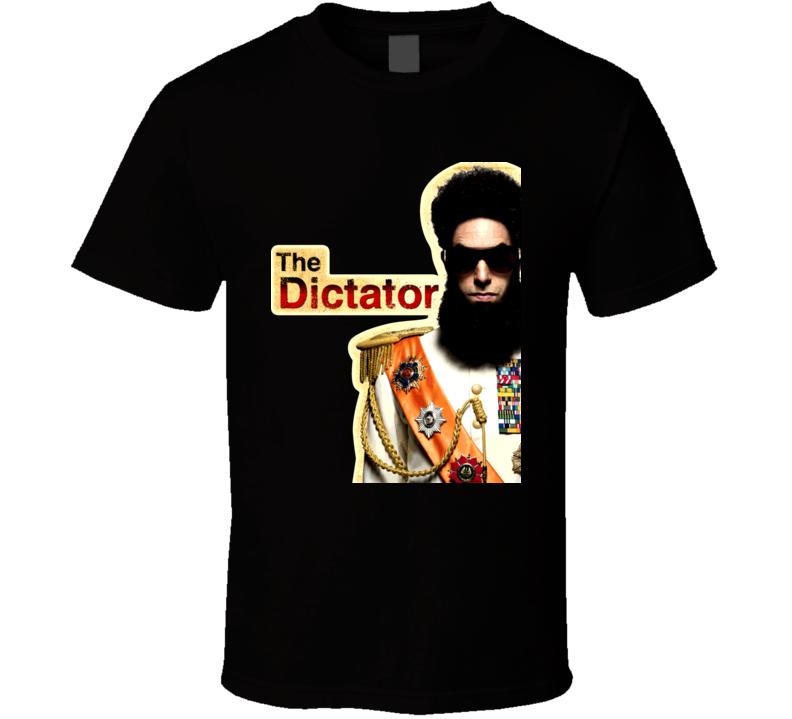 Sacha Baron Cohen The Dictator Movie T Shirt