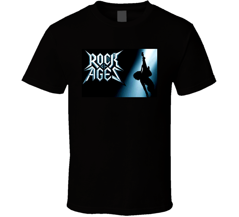 Rock Of Ages Movie Poster T Shirt
