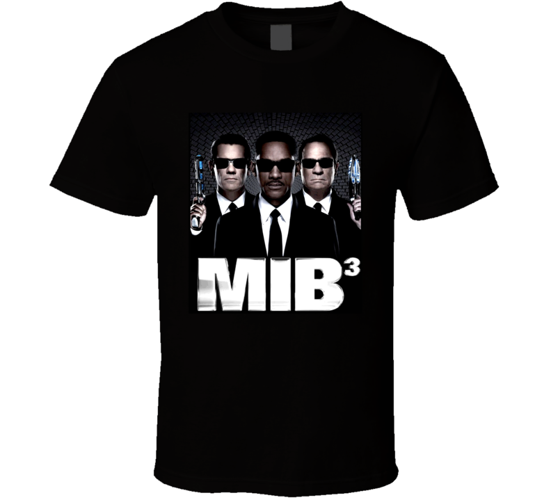 Men In Black 3 T Shirt