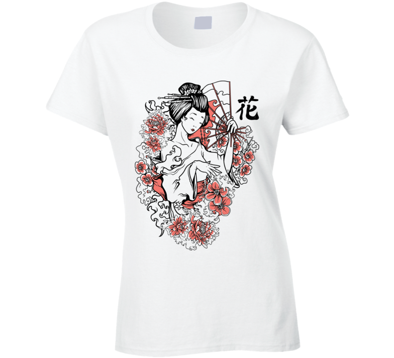 Geisha Girl T Shirt