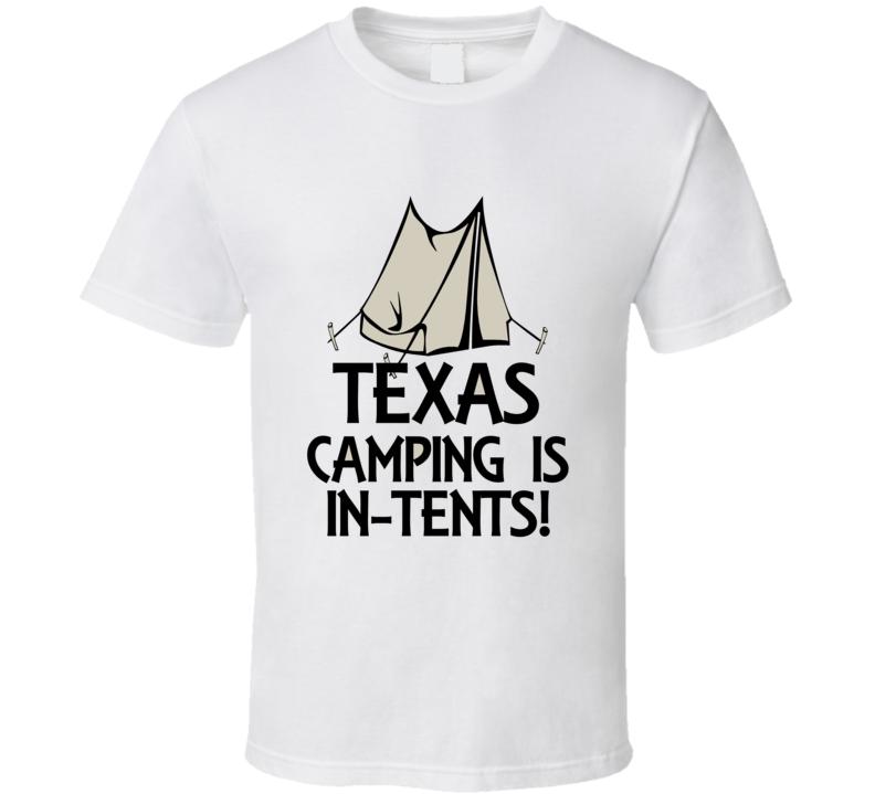 Texas Camping T Shirt