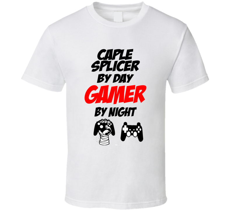 Gamer By night T Shirt