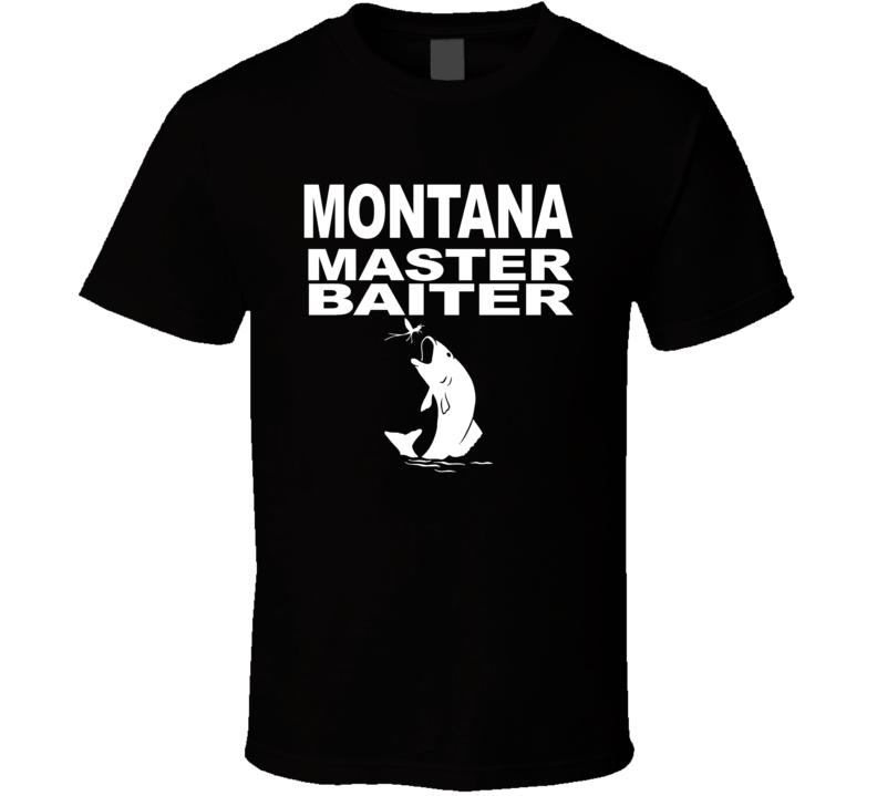 Montana Master Baiter T Shirt