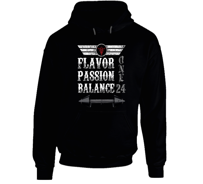 Flavor Passion and Balance Hoodie