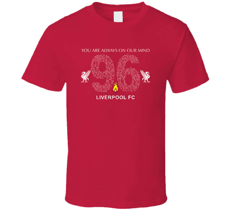 Liverpool FC Justice T Shirt 2