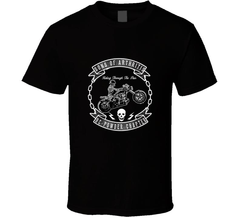 Sons Of Arthritis BC- Powder Chapter T Shirt