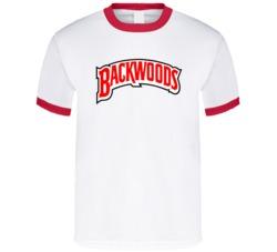 Backwoods Cigar Logo Blunt Stoner Weed Tshirt