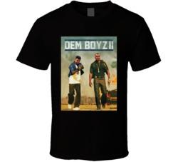 Dem Boyz 2 Dallas Football Dak Prescott Ezekiel Elliot Bad Boys Parody Sports Fan T Shirt