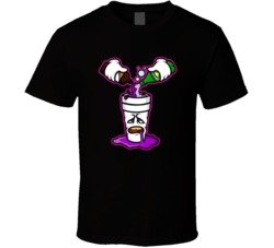 Sizzurp Cartoon Dirty Sprite Funny Actavis Prometh Lean Drugs T Shirt