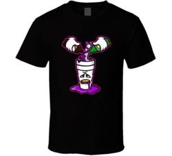 Sizzurp Cartoon Dirty Sprite Funny Actavis Prometh Lean Drugs T Shirt