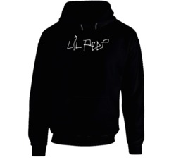 Lil Peep Logo Cool Rap Hip Hop Music Fan For Black Hoodie
