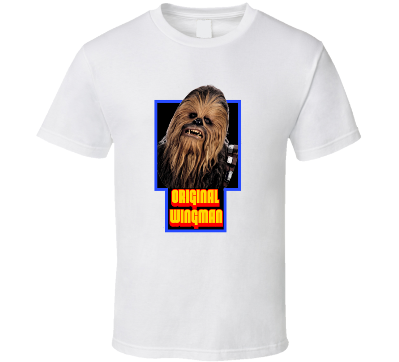 Original Wingman Chewbacca Funny Star Wars Tshirt