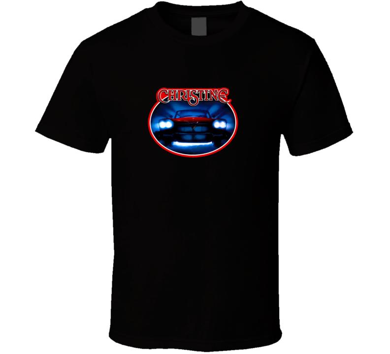 Christine Classic Car Horror Movie Tshirt