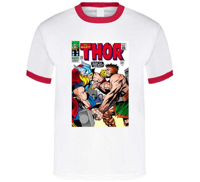 The Mighty Thor Super Hero Comic Tshirt