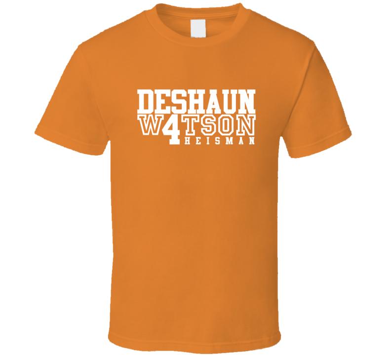 Deshaun Watson For Heisman Award Clemson Tigers Football T Shirt