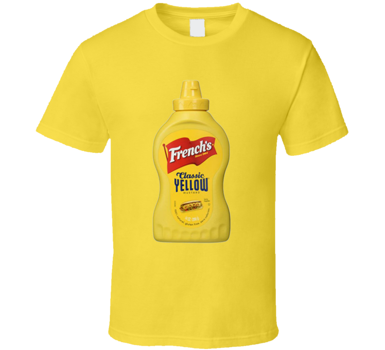 Frenchs Classic Yellow Mustard Food Condiment Logo T Shirt