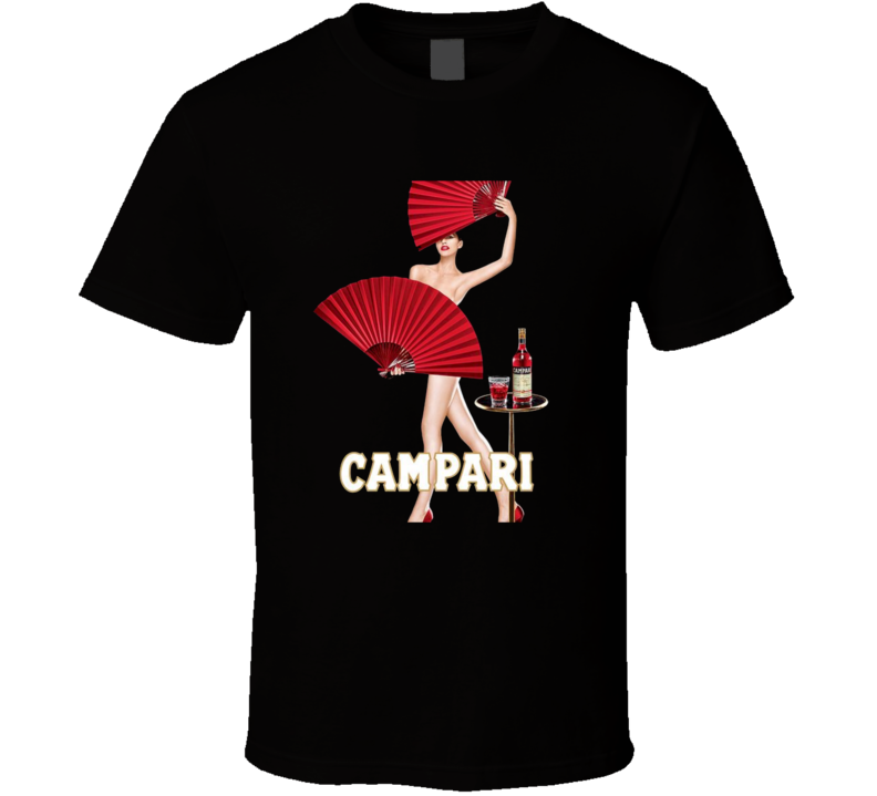 Campari Passione Poster Alcohol Booze Drinking T Shirt
