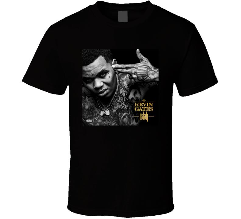 Kevin Gates Islah Mixtape Cover Rap Hip Hop Music T Shirt