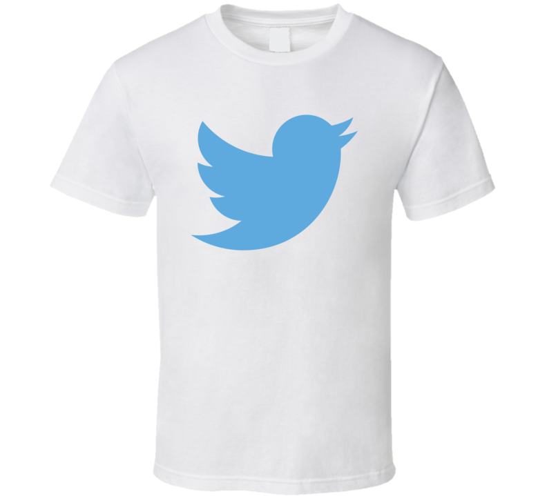 Twitter Bird Cool Social Media Logo T Shirt