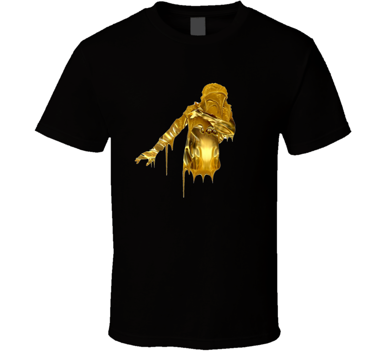 Migos Look At My Dab Dripping Gold Cool Rap Hip Hop Logo T Shirt
