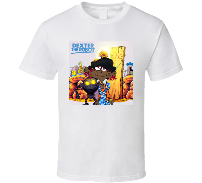 Famous Dex Dexter The Robot Mixtape Cover Rap Hip Hop Music T Shirt