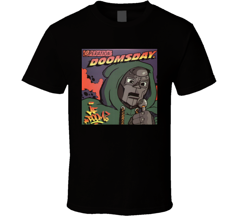 MF Doom Operation Doomsday Underground Rap Hip Hop Album Cover T Shirt